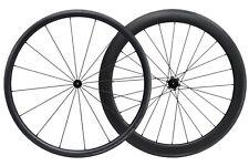 30MM 55MM Carbon Matt Tubeless Clincher Wheelset 700C Road Bike