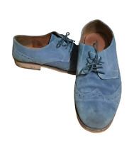 Red Herring Men's Suede Shoes Blue UK 11 EU 45 2016 Marks