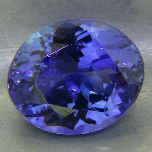 fine tanzanite 4.15ct natural loose gemstones