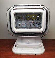 MARINE BOAT PORTABLE WIRELESS REMOTE HIGH POWER LED WORK SPOT LIGHT IP65