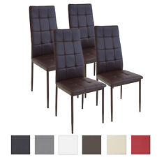 4 X Esszimmerstühle RIMINI   Braun   Esszimmerstuhl Küchenstuhl Stuhl Stühle
