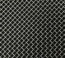 "High Quality Lockwood DIY Silver Cut Stainless Steel Car Grille Mesh (11"" x 23"")"