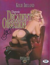Kylie Ireland Signed 8x10 Photo PSA/DNA COA Diagnosis Decadent Obsession Poster