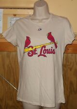 WOMENS SHIRTS MAJESTIC CARDINALS TOP WOMENS SIZE LARGE GREAT BUY