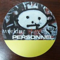 U2 - Zoo Tour - VIP / Backstage / Working Personnel Pass - unbenutzt -