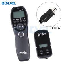 LCD Wireless Timer Remote Control For Nikon D7200 D7500 D5500 D5300 D5200 MC-DC2