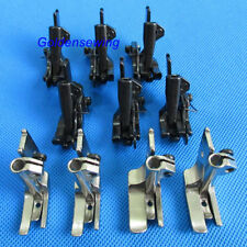 10 SETS PIPING & WALKING FOOT with R & L EDGE GUIDE FOR SINGER 111W 211W 153W
