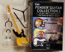F-Toys Fender Guitar Collection 2 PRECISION BASS Butterscotch Blond ROCK N ROLL
