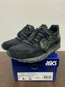 """5*64 Men's ASICS Gel-Lyte V Atmos """"Black and Gold"""" Size 8.5"""
