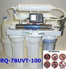 7stUV+RO+DI+TANK Complete Reverse Osmosis Water Filter#RQ-7BUVT