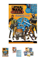 Star wars Rebels sticker pad 7 full colour scenes reusable stickers