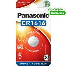 1 x Panasonic CR1616 3V Lithium Coin Cell Battery 1616 DL1616 BR1616 2028 EXP