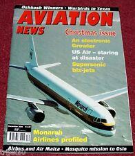 Aviation News 2004 December F-18 Hornet,Air Malta,Monarch Airlines,Oslo 1944