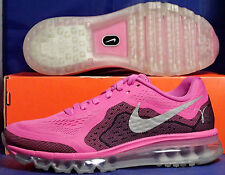 Womens Nike Air Max 2014 Breast Cancer Awareness Pink SZ 7 ( 621078-606 )