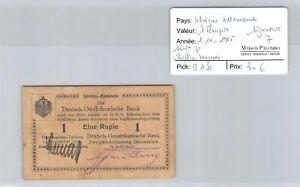 Deutsch-Ostafrikanische Afrique Allemande 1 Roupie 1.11.1915 n° 79543  Pick 9Ab