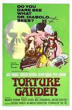 Torture Garden Poster 01 A3 Box Canvas Print