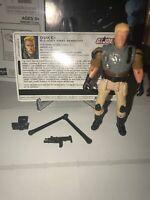 2005 GI Joe Cobra Black Dragon Ninja v2 Complete w// weapons No File Card.
