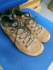 Brasher Mateka brown leather Gore-Tex waterproof walking shoes size 9/43