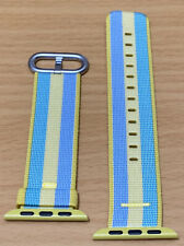 Genuine APPLE Watch Band Strap Woven Nylon POLLEN stripes 38mm / 40mm
