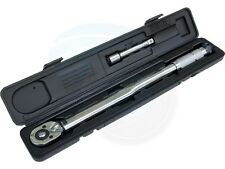 1/2 inch Drive Adjustable Torque Wrench 28-210N-m 125mm Extension Bar