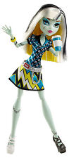 MONSTER High Frankie Stein Coffin bean bambola da collezione raro bhn04