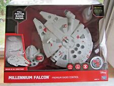 Radio Control Star Wars Spaceship Falcon Works On Floor Not Air Different Rare