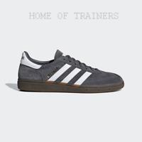 ADIDAS HANDBALL SPEZIAL GREY WHITE  D96795 Men's Trainers All Sizes (PTI)