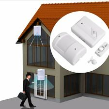 Wireless Motion Sensor Detector Door Gate Entry Bell Chime Doorbell Alarm Alert