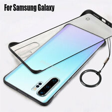 Slim Matte Frosted Hard Clear Case Cover For Samsung Galaxy A70 A50 A10 A7 2018
