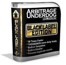 PROVEN MONEY-MAKING METHOD Arbitrage Underdog Black Label Edition (OTO)