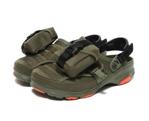 Crocs x BEAMS Classic All Terrain Outdoor Army  Green Sandal Shoe US M7 or W9