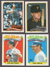 1989 TOPPS COMPLETE BASEBALL SET 792 CARDS NM/MT - MINT