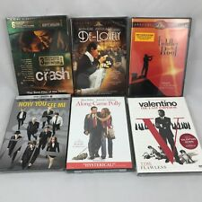6 DVD lot-all NEW: Now You See Me/Crash/Fiddler on the Roof/De-Lovely+2 more