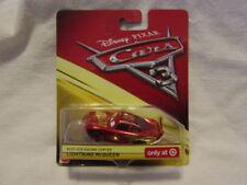Disney-PIXAR CAR'S 3-Rust-eze Racing Center Lightning McQueen (TARGET Exclusive)