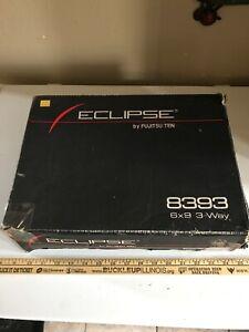 Vintage ECLIPSE 8393 3 Way 6x9's