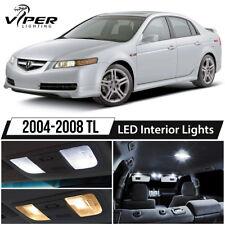 2004-2008 Acura TL White LED Interior Lights Package Kit