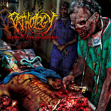 "PATHOLOGY ""Incisions of Perverse Debauchery"" death metal CD"