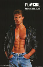POSTER : JOSEPH PALLISTER -  1993 PLAYGIRL MAN OF THE YEAR -  #PC1143 LC15 L