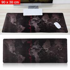 Extra Large XL Gaming Mouse Pad Mat for PC Laptop Keyboard Anti-Slip 90cm*30cm