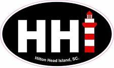 Hilton Head Island, SC Light House, HHI Vinyl Sticker Decal 5x3