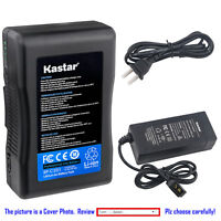 Kastar Battery Charger for Panasonic V Mount V Lock Professional video Camcorder