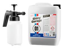 Shiny Garage Fruit Snow Foam Reinigungsschaum Shampoo  5 Liter + Schaumsprüher