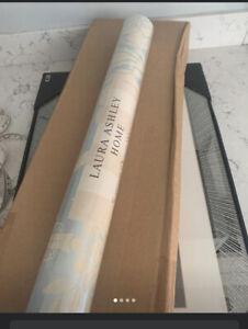 Laura Ashley Wallpaper Duck Egg Tatton Bnib