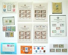 Latin America Souvenir Sheets With Edifil Cat #456 High Value: Stamps on Stamps