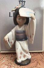 Lladro 6230 Oriental Dance Retired! Mint Condition! Grey Lladro Box! L@K!