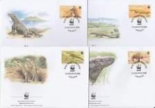 WWF 4 x FDC Indonesia 2000 - Komodo Varaan (122)