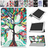 """Painted Magnetic Hard Case Leather Cover For 10.1"""" Acer Iconia One B3-A40 Tablet"""