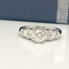 Platinum White Gold Diamond Engagement Ring
