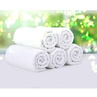 1x Soft 100% Cotton 73 * 33cm hôtel débarbouillettes serviette de bain
