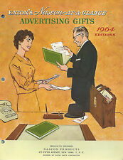 Nascon Products Eatons At-A-Glance Advertising Gifts Calendars Planners Trip Bks